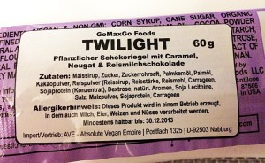 TwilightCandybarInhalt