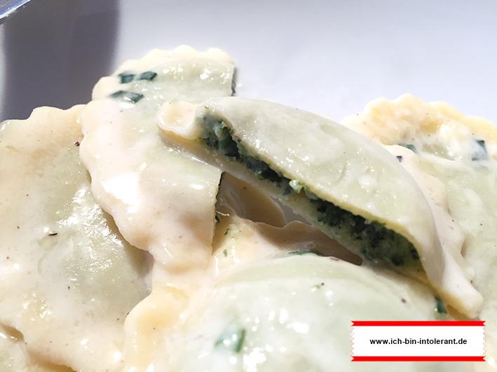 glutenfreie Tortellini mit Ricotta Spinatfüllung von bofrost*free
