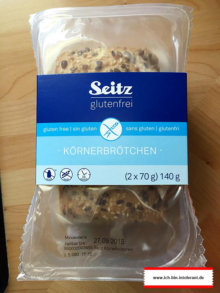 Seitz glutenfreie Körnerbrötchen