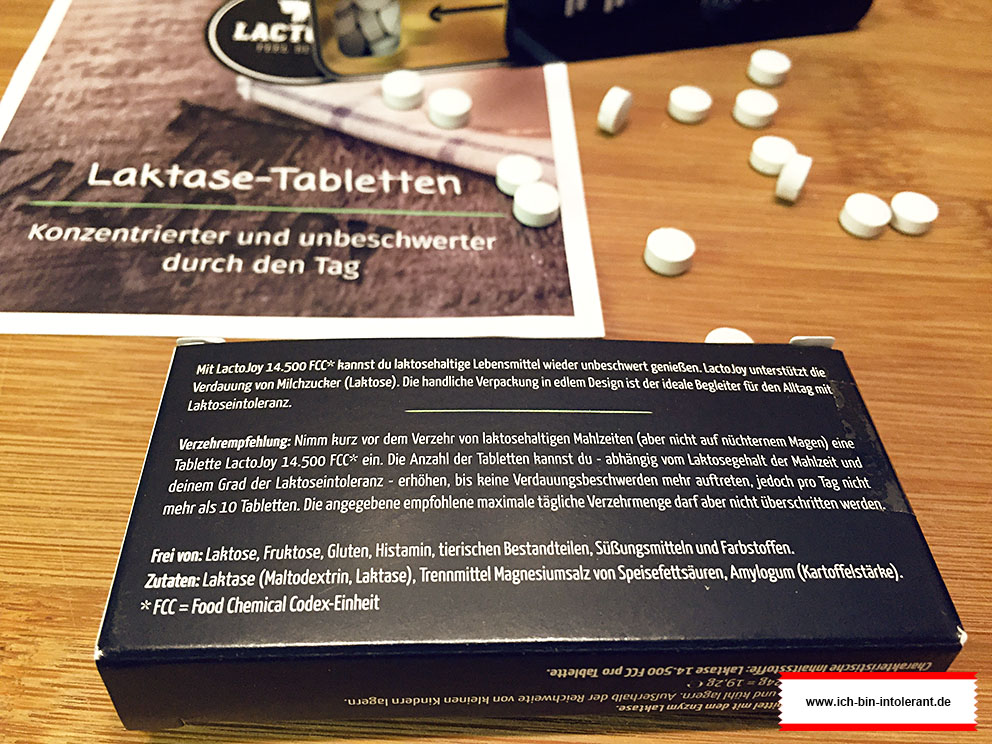 LactoJoy Laktase Tabletten