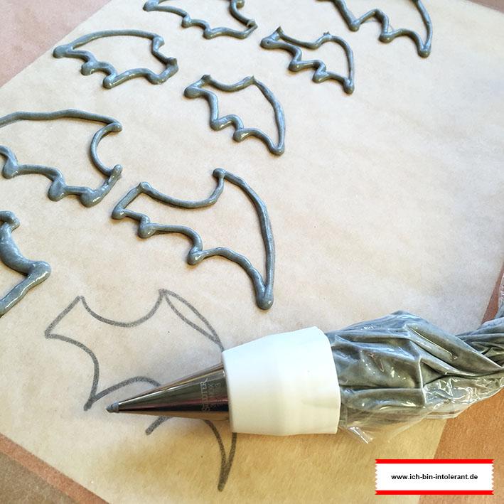 Oreo Fledermäuse glutenfrei - Flügel