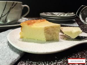 Käsekuchen glutenfrei und ohne Boden