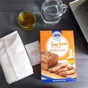 Mischung für glutenfreies dunkles Brot von Lidl